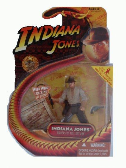 Indiana Jones Series 1 - Indiana Jones w/Whip-Cracking Action Figure