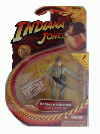 Indiana Jones Series 1 - German Soldier Action Figure