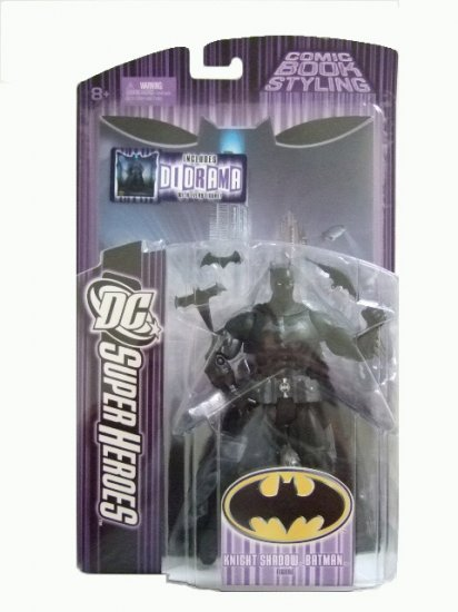 DC Super Heroes Series 6 - Knight Shadow Batman Action Figure Justice League