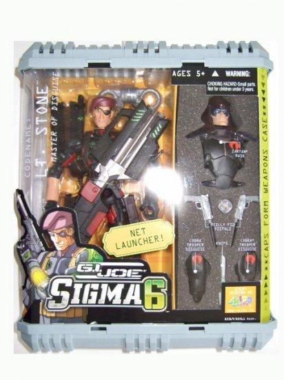 GI Joe Sigma 6 - Lt. Stone Action Figure