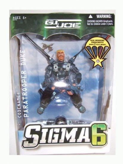 GI Joe Sigma 6 - Paratrooper Duke Action Figure