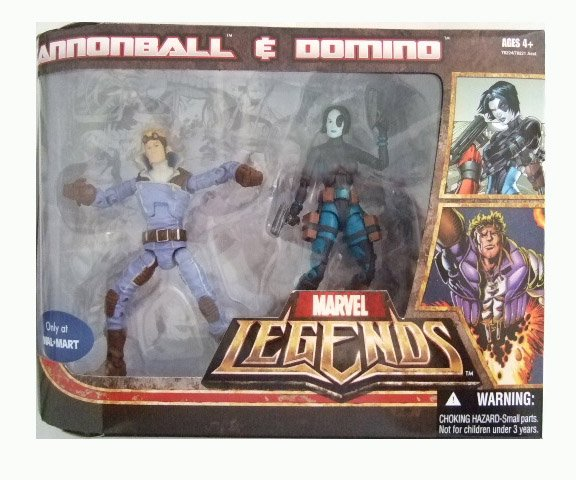 Marvel Legends Exclusive - Cannonball and Domino Action Figure 2-Pack