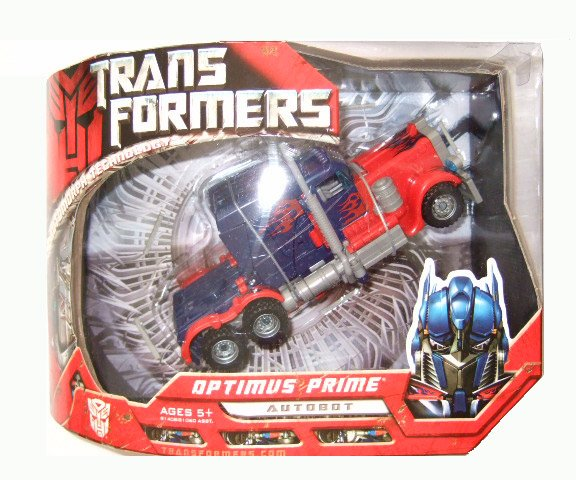 Transformers The Movie Voyager Class - Optimus Prime Action Figure