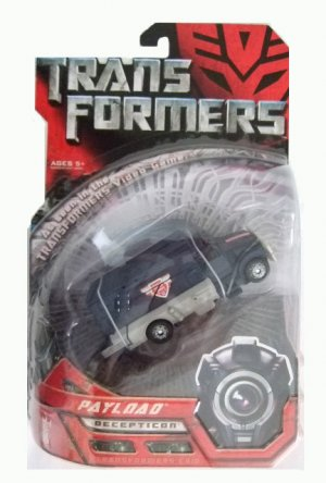 Transformers The Movie Deluxe Class -  Payload Action Figure