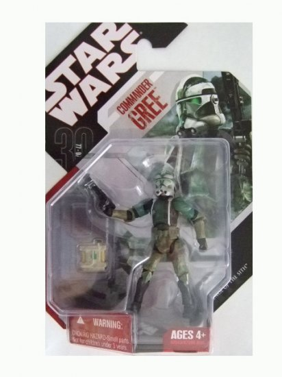 Star Wars 30th Anniversary 2008 Wave 1  - Commander Gree Action Figure