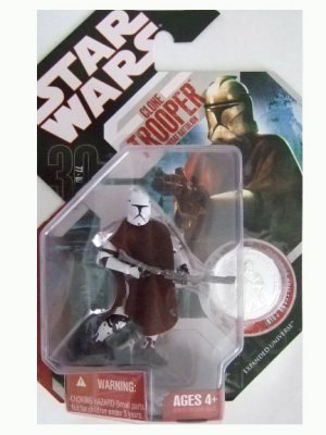 Star Wars 30th Anniversary Wave 7.5 - Clone Trooper (Hawkbat Battalion) Action Figure