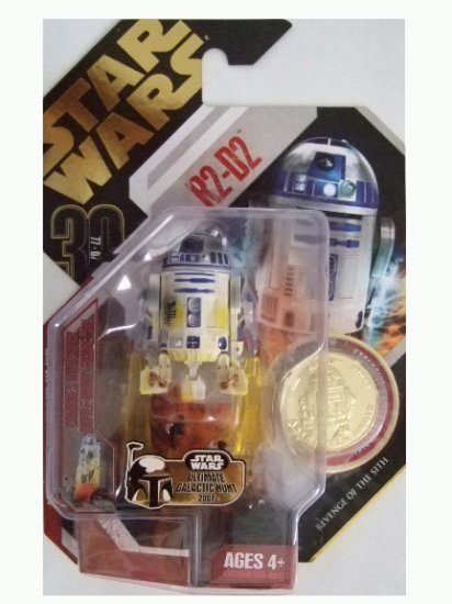 Star Wars 30th Anniversary Ultimate Galactic Hunt - R2-D2 Action Figure