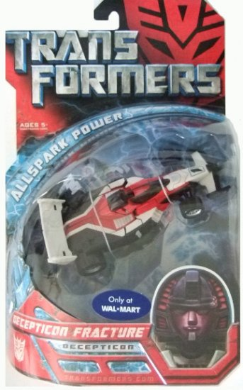 Transformers The Movie Allspark Power Deluxe Class -  Decepticon Fracture Action Figure