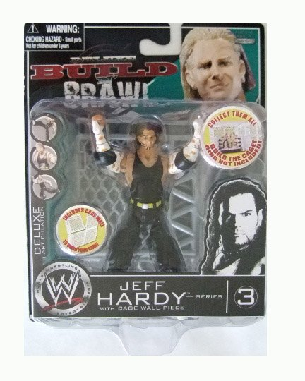 WWE Deluxe Build N' Brawl Series 3 - Jeff Hardy Action Figure