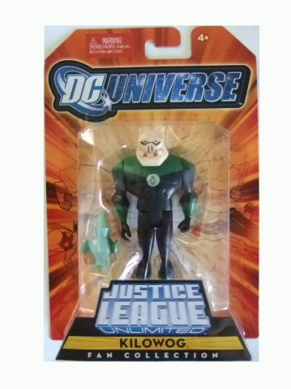 DC Universe Justice League Unlimited Series 1- Kilowog Action Figure