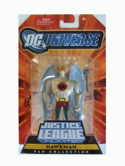 DC Universe Justice League Unlimited Series 1- Hawkman Action Figure