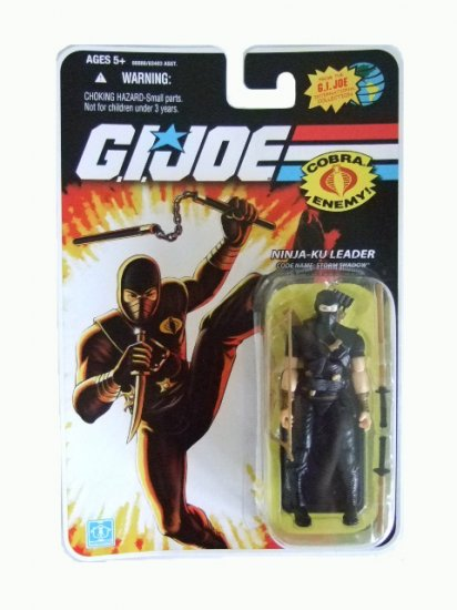 GI Joe 25th Anniversary Wave 9 - Storm Shadow (Ninja-Ku Leader) Action Figure
