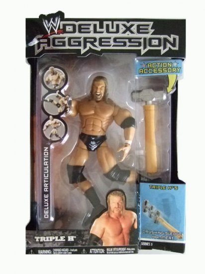 WWE Deluxe Aggression Series 5 - Triple H Action Figure