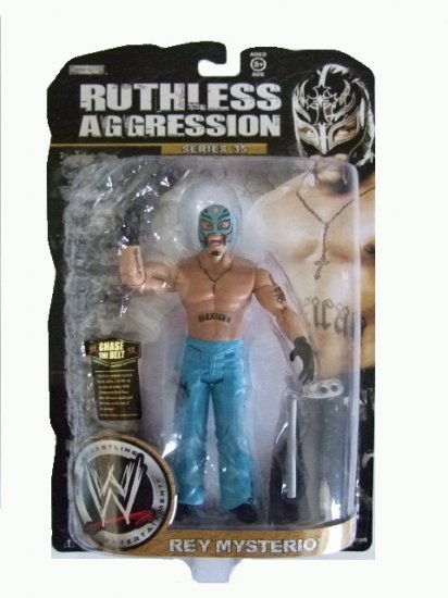 WWE Ruthless Aggression Series 35 - Rey Mysterio Action Figure