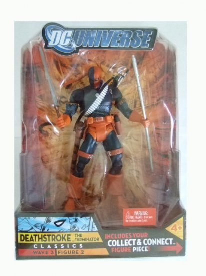 DC Universe Series 3 - Deathstroke (Distressed Packaging) Action Figure