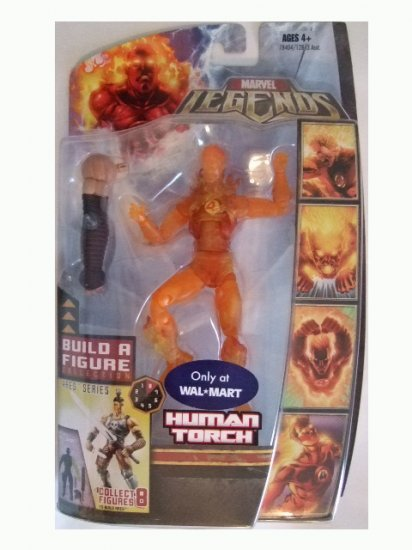 Marvel Legends Series 6 Exclusive - Human Torch Action Figure