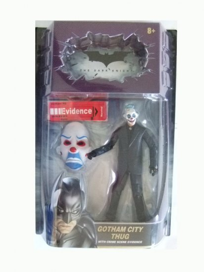 The Dark Knight Movie Masters - Gotham City Thug (Version #4) Action Figure