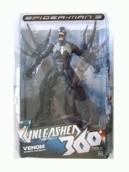 Spider-Man 3 Unleashed 360 - Venom Action Figure