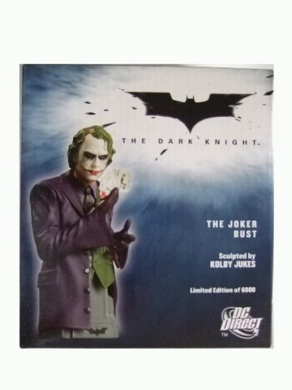 DC Direct The Dark Knight - Joker Bust