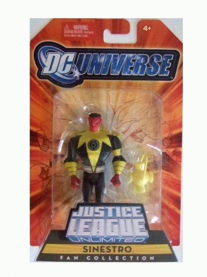 DC Universe Justice League Unlimited - Sinestro Action Figure