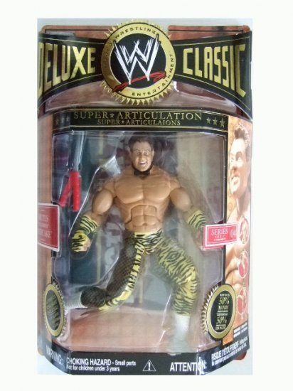 WWE Deluxe Classic Series 4 - Brutus The Barber Beefcake Action Figure