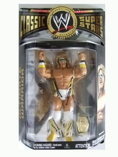 WWE Classic Superstars Series 16 - Ultimate Warrior Action Figure