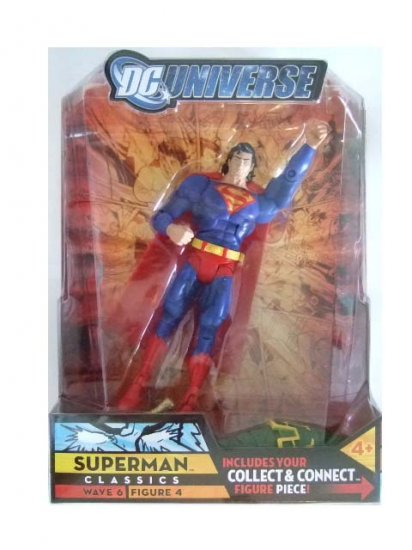 DC Universe Series 6 - Superman (Blue & Red) Action Figure