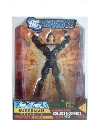 DC Universe Series 6 - Superman (Black Solar Suit) Action Figure