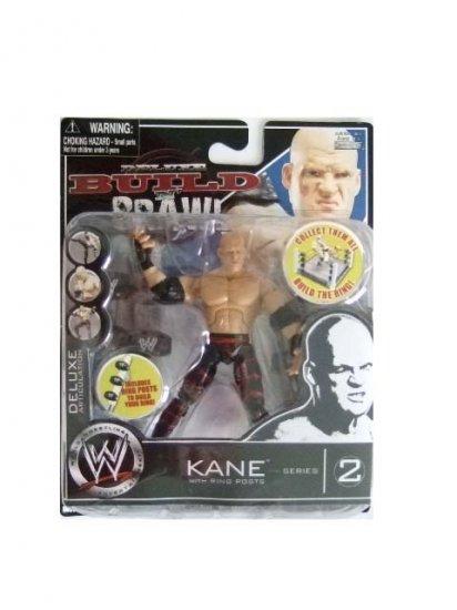 WWE Deluxe Build N' Brawl Series 2 - Kane Action Figure