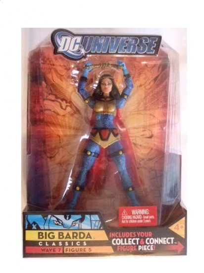 DC Universe Series 7 - Big Barda (No Helmet) Variant Action Figure