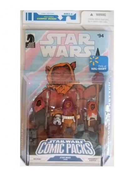 Star Wars Exclusive Comic Pack - Machook, Keoulkeech & Kettch Action Figure Pack