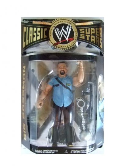 WWE Classic Superstars Series 23 - Big Boss Man Action Figure