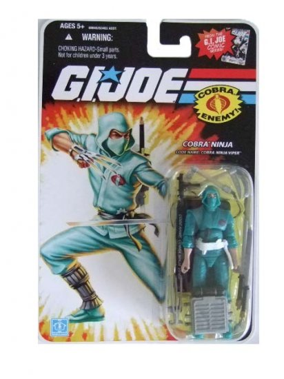 GI Joe 25th Anniversary Wave 12 - Cobra Ninja Viper Action Figure