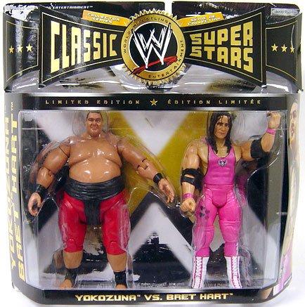 WWE Classic Superstars Limited Edition - Yokozuna & Bret Hart Action Figure 2-Pack