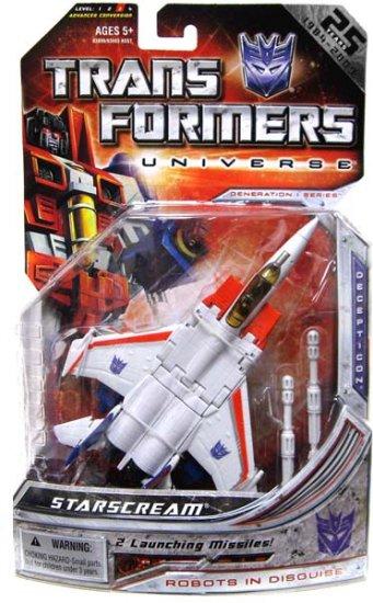 Transformers Universe Classics G1 Series - Starscream Action Figure