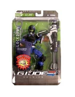 GI Joe Sigma 6 Combat Squad - Lockdown (Distressed Packaging) Action Figure