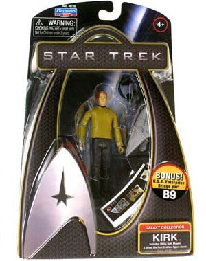 Star Trek The Movie 2009 - Kirk 3 Inch Action Figure