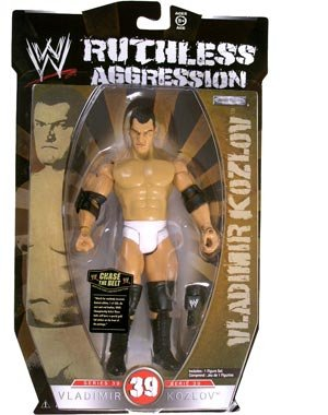 WWE Ruthless Aggression Series 39 - Vladimir Kozlov Action Figure