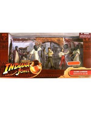 Indiana Jones Raiders of the Lost Ark - Cairo Ambush Exclusive Action Figure Multi-Pack