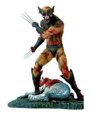 Marvel Milestones Zombie Wolverine Statue