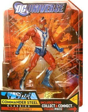 DC Universe Series 8 - Commander Steel (Distressed Packaging) Action Figure