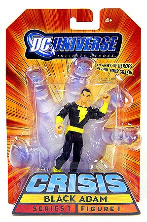 DC Universe Inifinite Heroes Series 1 - Black Adam Action Figure