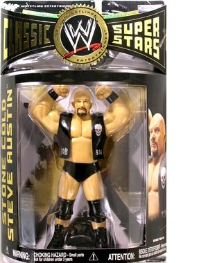 WWE Classic Superstars Series 14 - Stone Cold Steve Austin (LJN Style) Action Figure