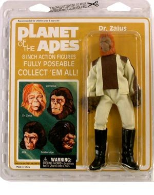 Planet of the Apes Mego Style - Dr. Zaius Action Figure