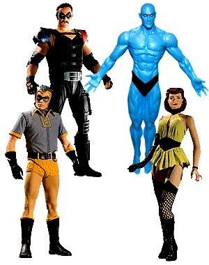Watchmen - Watchmen Series 2 Complete Action Figure Set