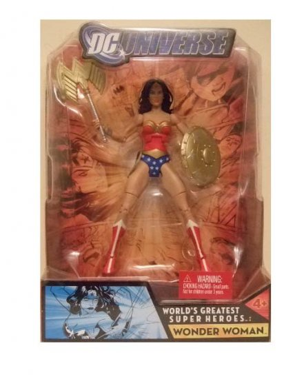DC Universe World's Greatest Super Heroes - Wonder Woman (Distressed Packaging) Action Figure