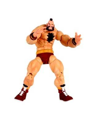 Street Fighter Revolution Series 1 - Zangief Action Figure