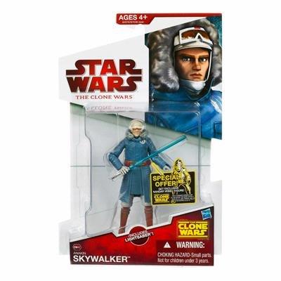 Star Wars Clone Wars - Anakin Skywalker (Cold Weather Gear) Action Figure