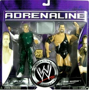 WWE Adrenaline Series 21 - Mikey & Big Show Action Figure 2-Pack