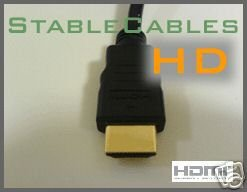 PREMIUM NEW HDMI Cable 6 ft 1080p 1.3 Gold for HDTV PS3